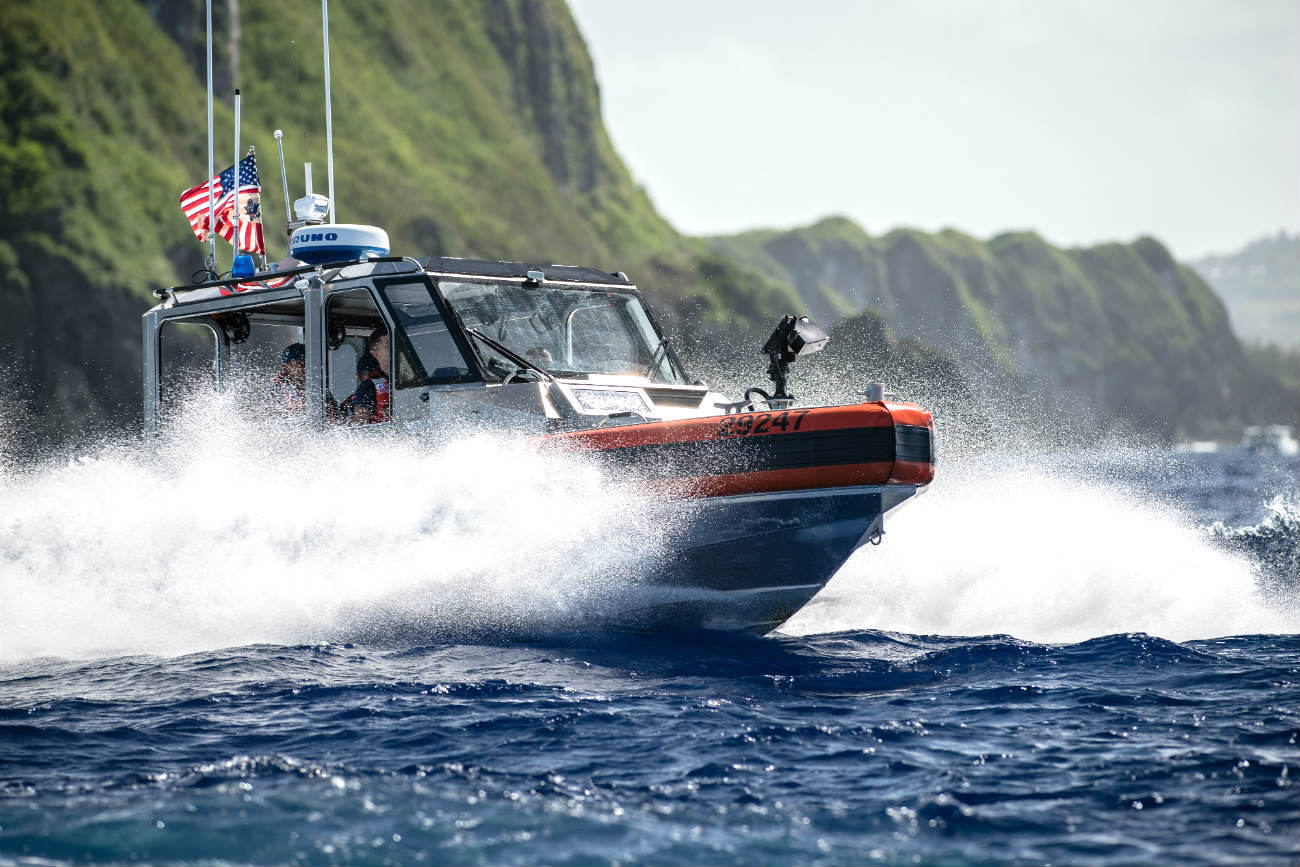 US Coast Guard Images Response boat