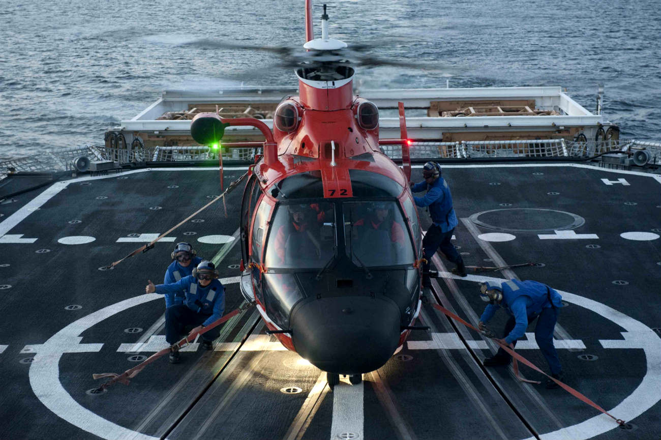 US Coast guard Images Helicopter