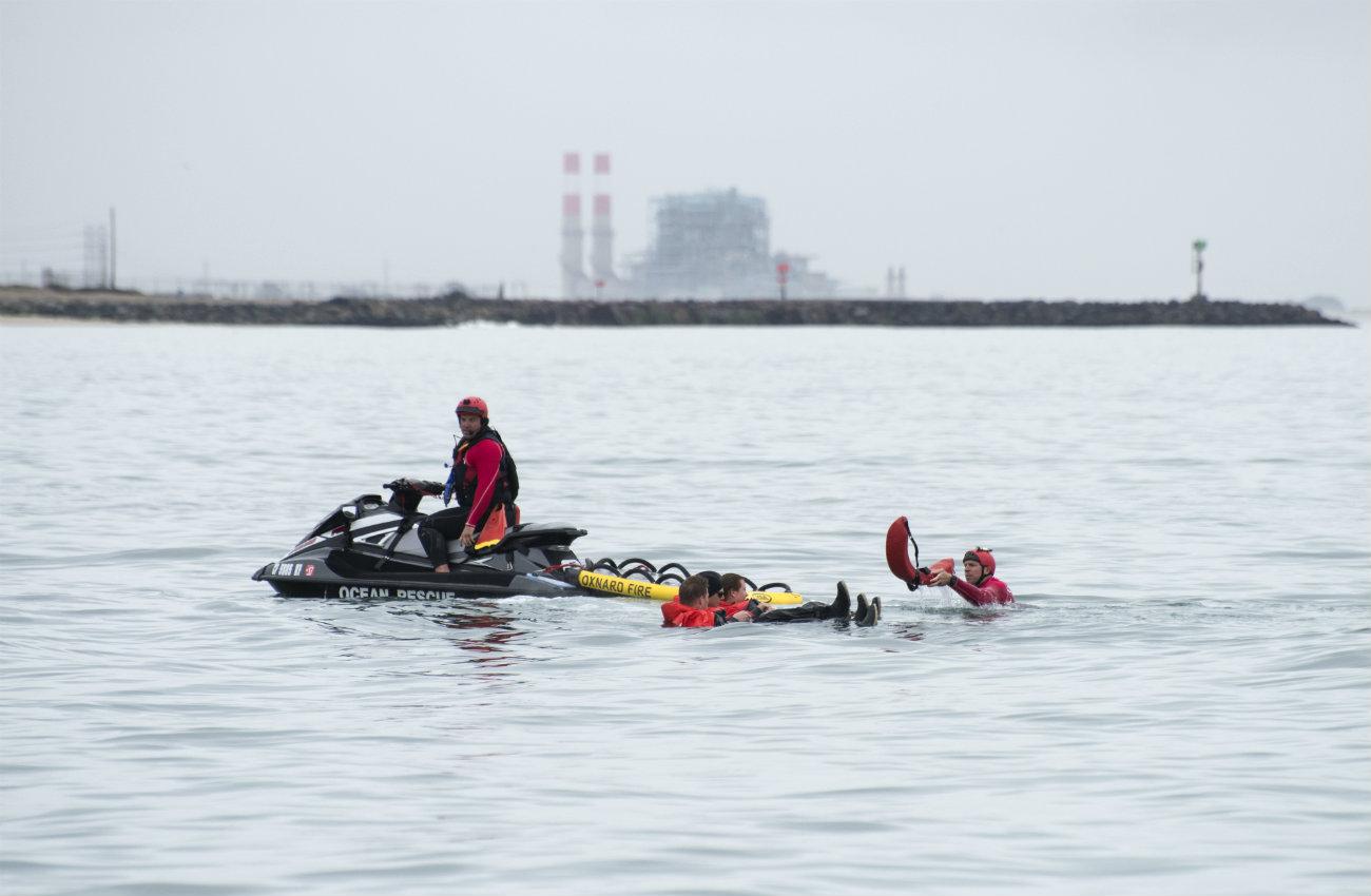 Coast guard jet ski