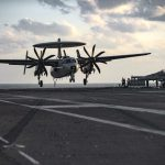E-2 Hawkeye landing gear