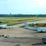 E-3 Sentry Taxis on Runway