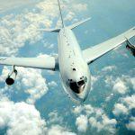 E-8C JSTARS in Flight