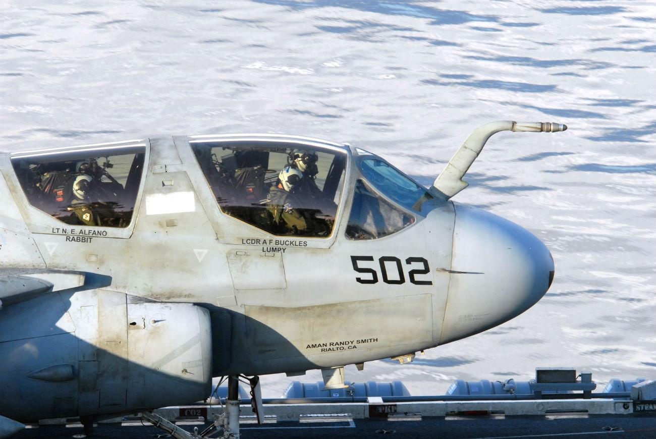 EA-6B Images Prowler Flight crewe