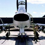 F-100F Super Sabre Front View