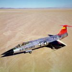 F-104 Starfighter in desert