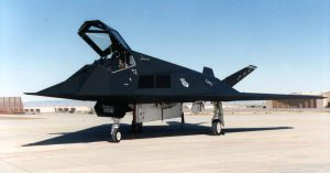F-117 Nighthawk Open Canopy