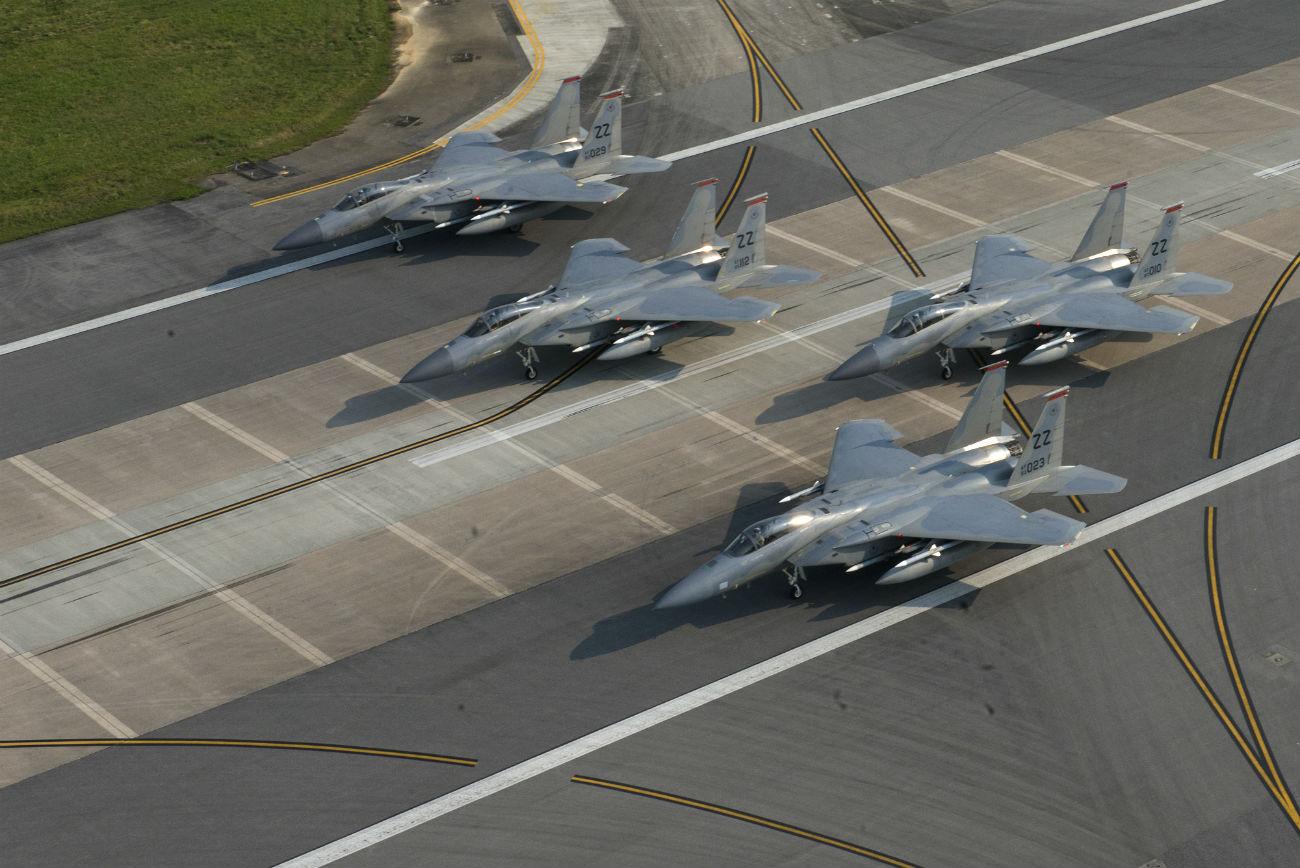 F-15 Eagles Images Elephant walk
