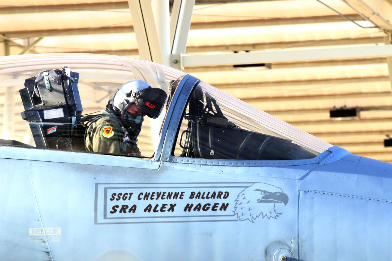 F-15 Eagles Images pilot checks