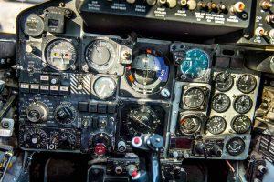 F-4 Phantom aircraft cockpit