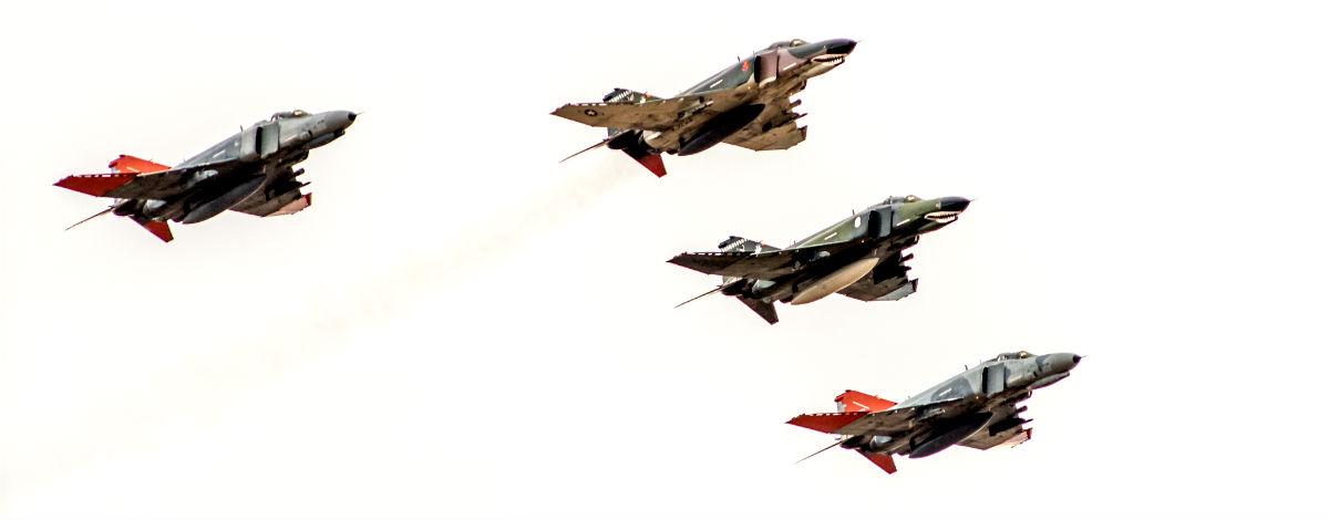 F-4 Phantom in FLight