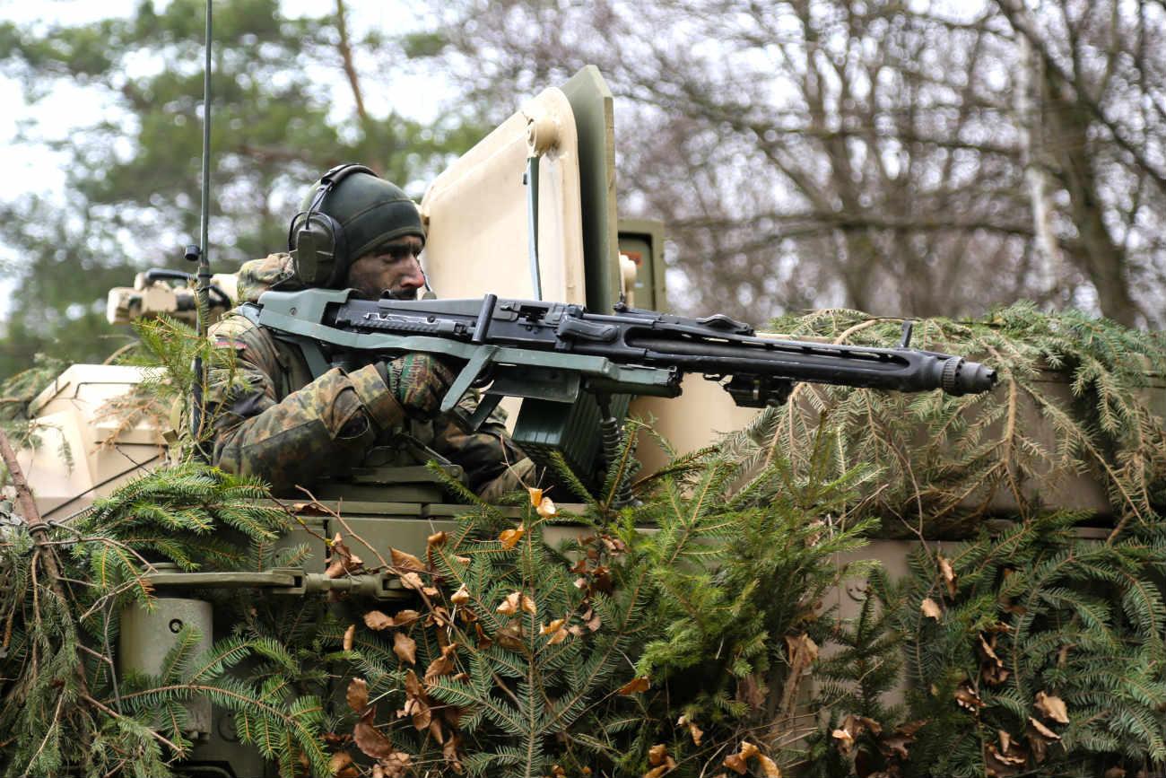 German Armed forces Machine gun