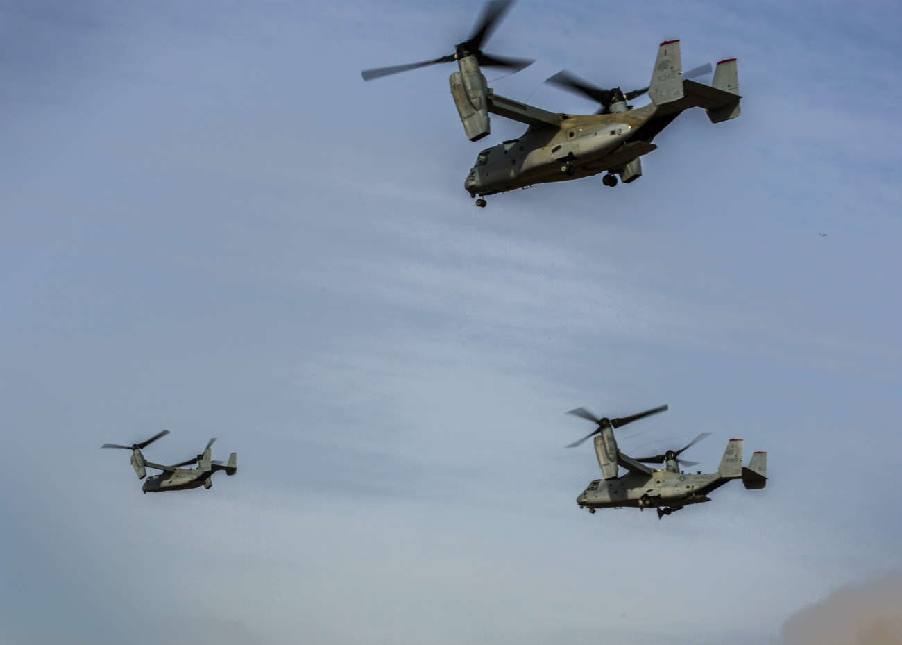 Group V-22 Osprey