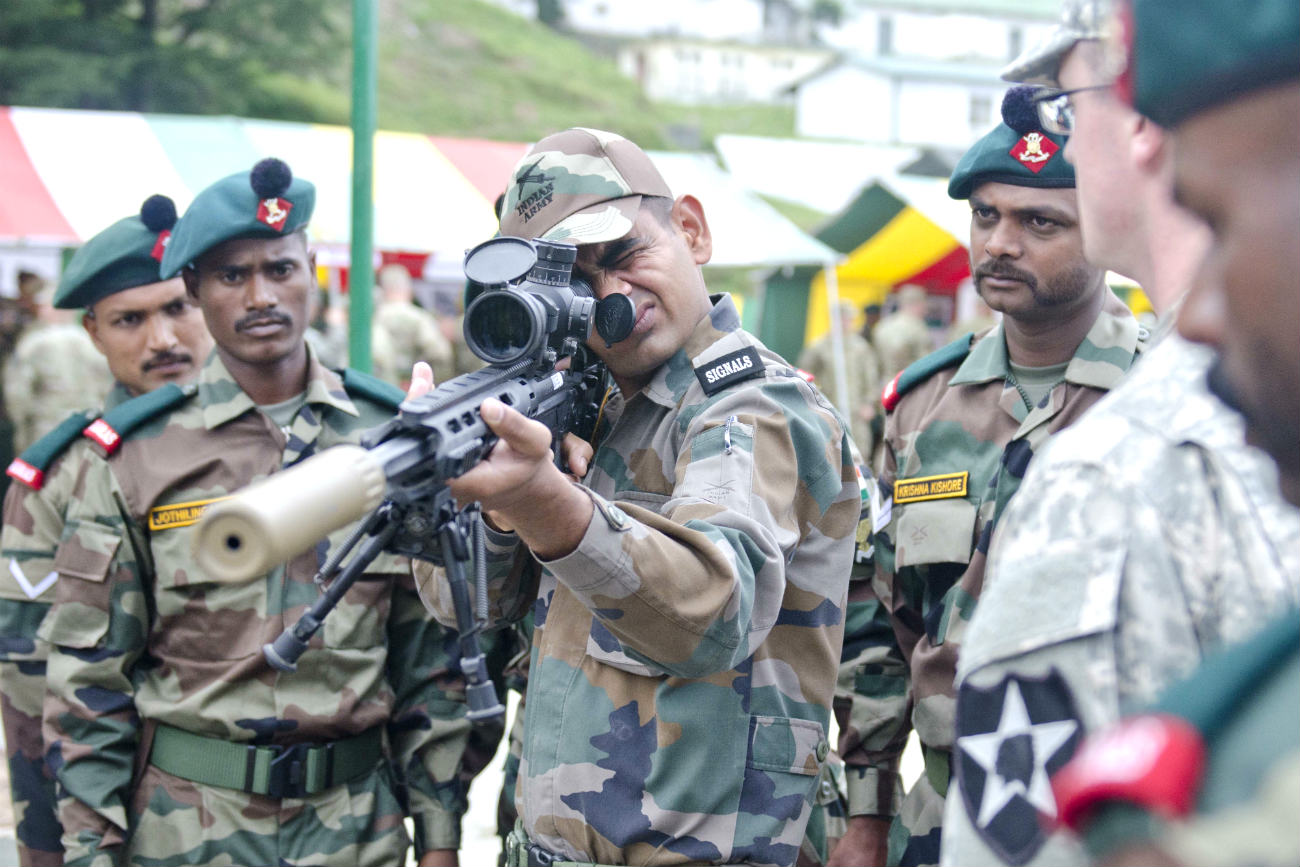 Indian Armed Forces Sniper rifle