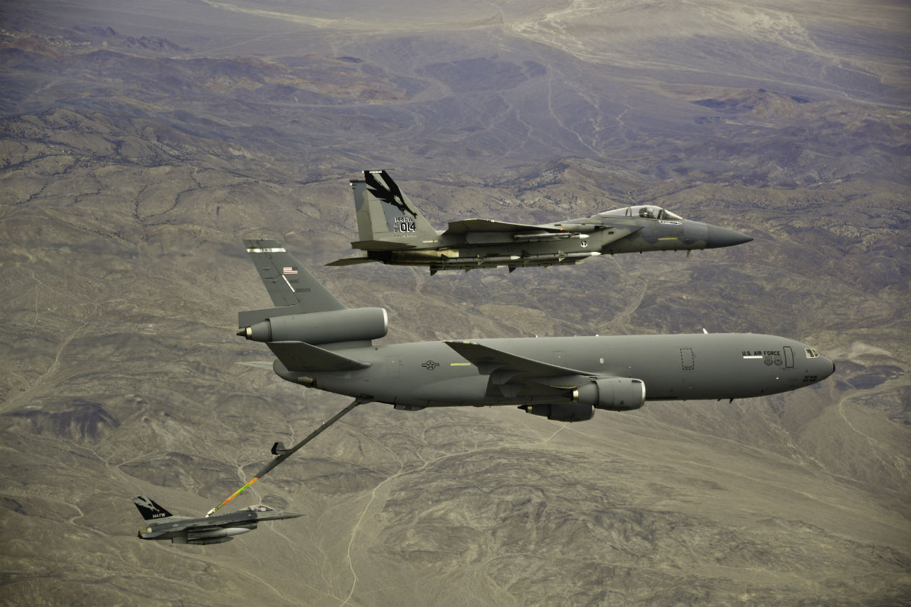 KC-10 Images of Extender refuels