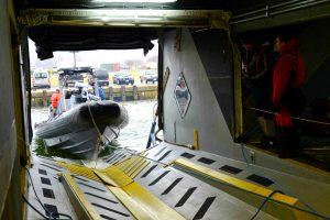 M80 Stiletto Unloads Boat