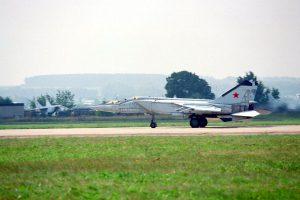 MiG-25PU - At MACS 1999