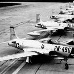 P-80 Shooting Stars on Runway
