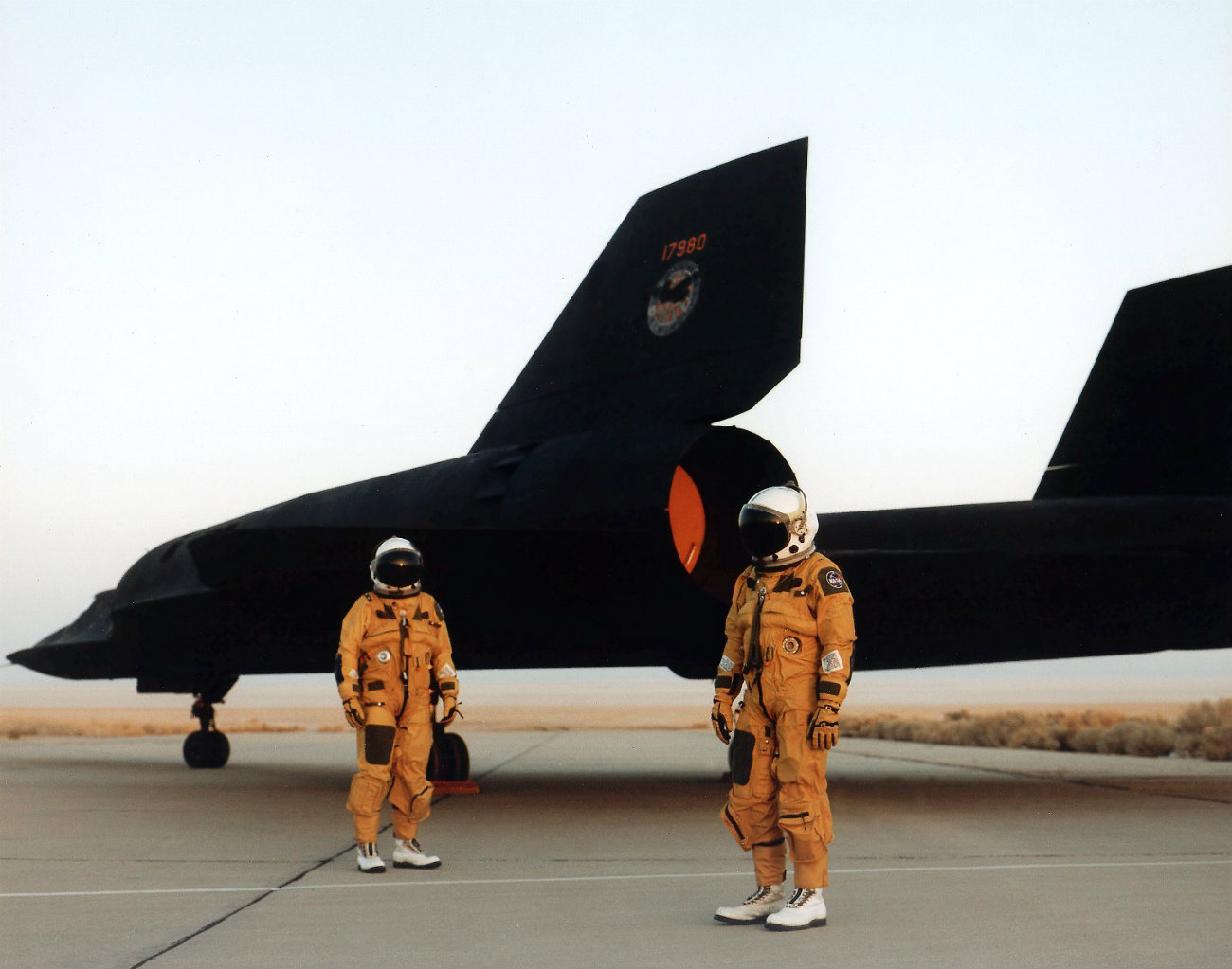 SR-71 Blackbird Flight crew