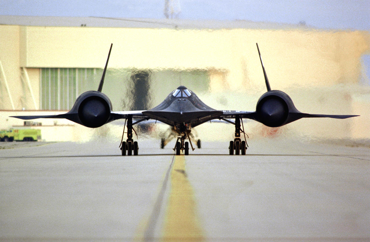 SR-71 blackbird engine start