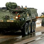 Stryker Military Vehicle