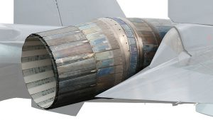Su-35 Thrust Vectoring Nozzle