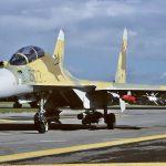 Sukhoi Su-35 with heavy armament
