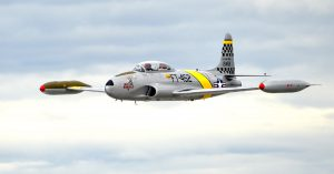 T-33 Shooting Star in Flight