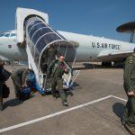 US Air Force E-3 Sentry Aircraft