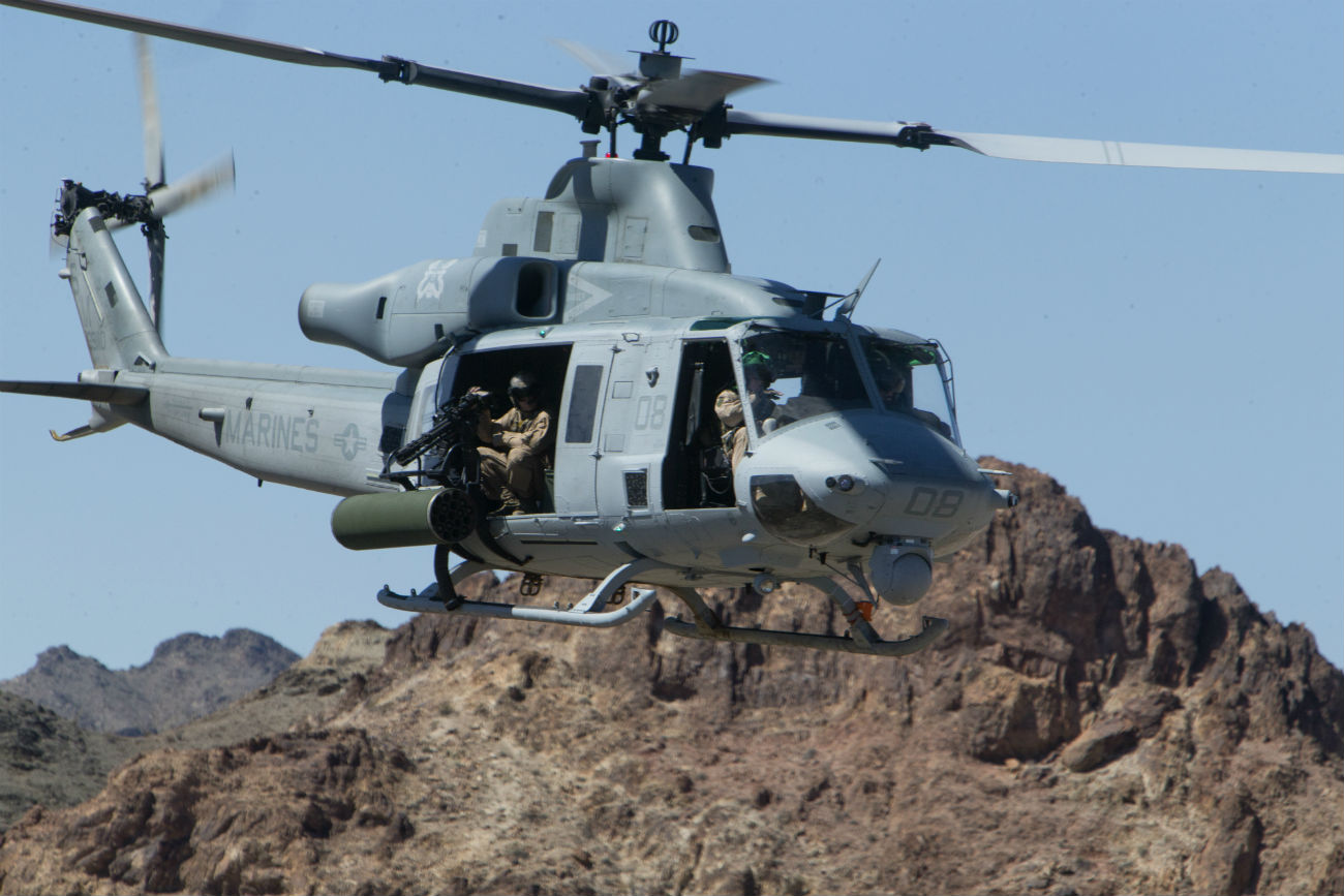 UH-1 Aircraft Helicopter