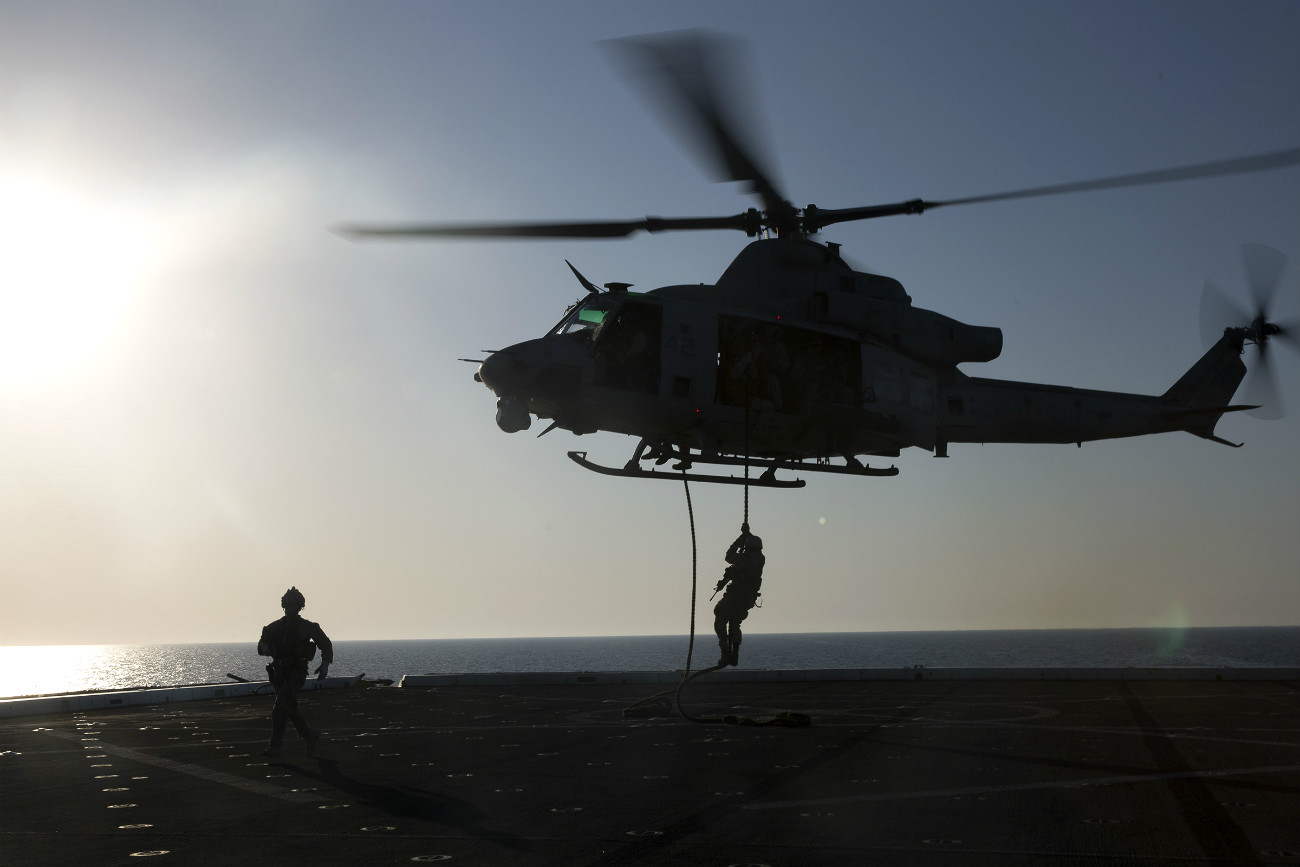 UH-1 Fast rope Carrier