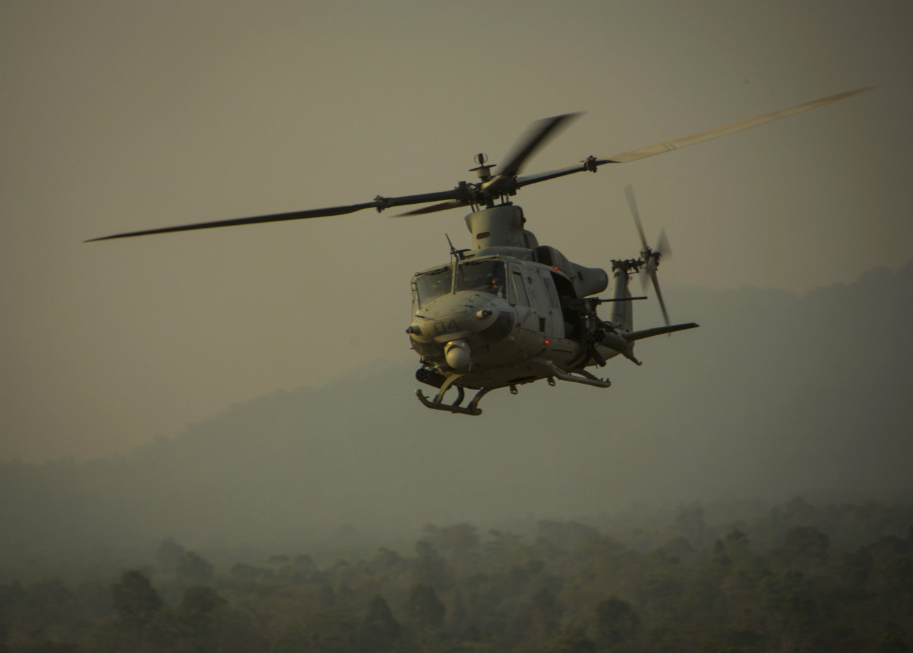 UH-1 Helicopter Aircraft
