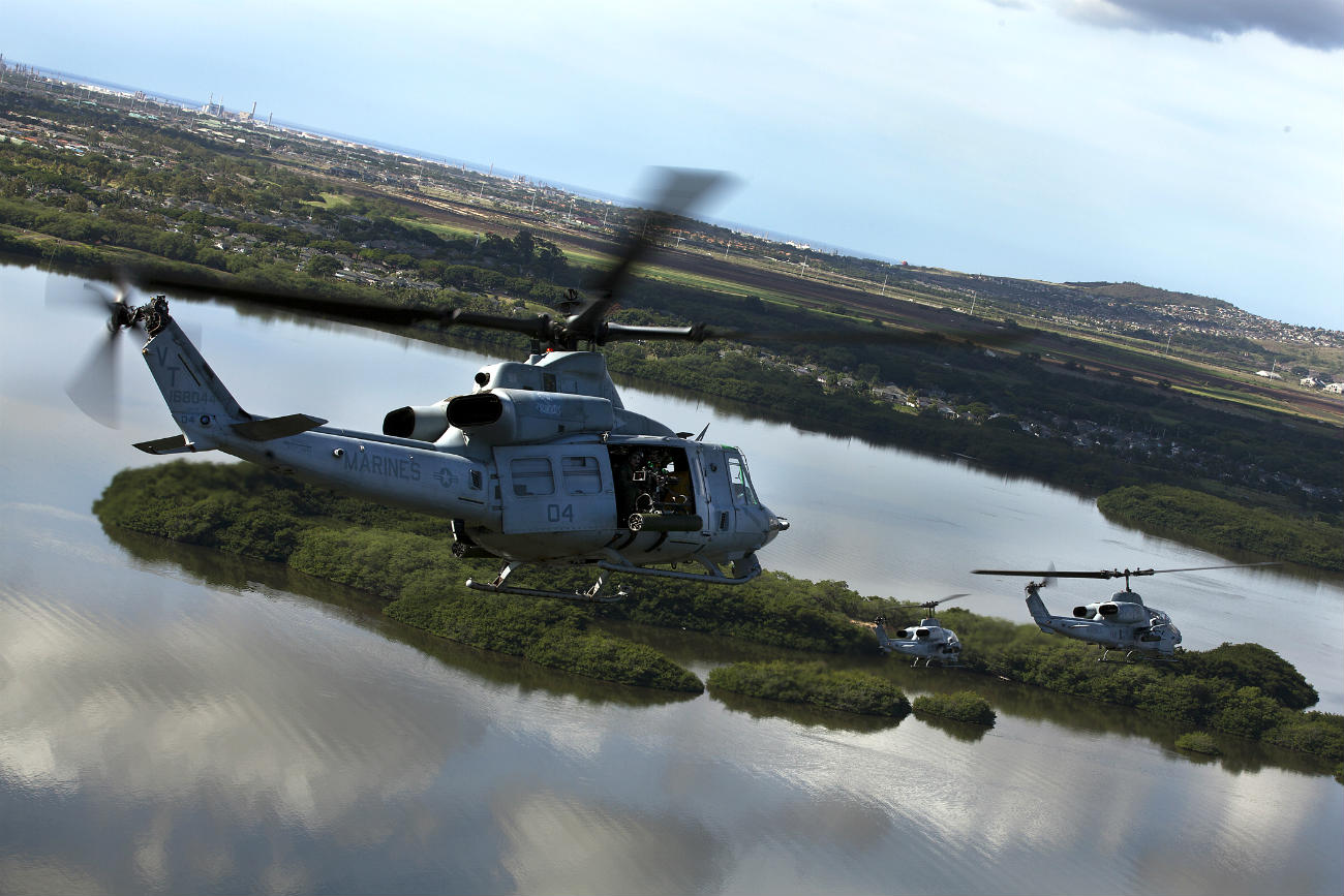 UH-1 Helicopters group