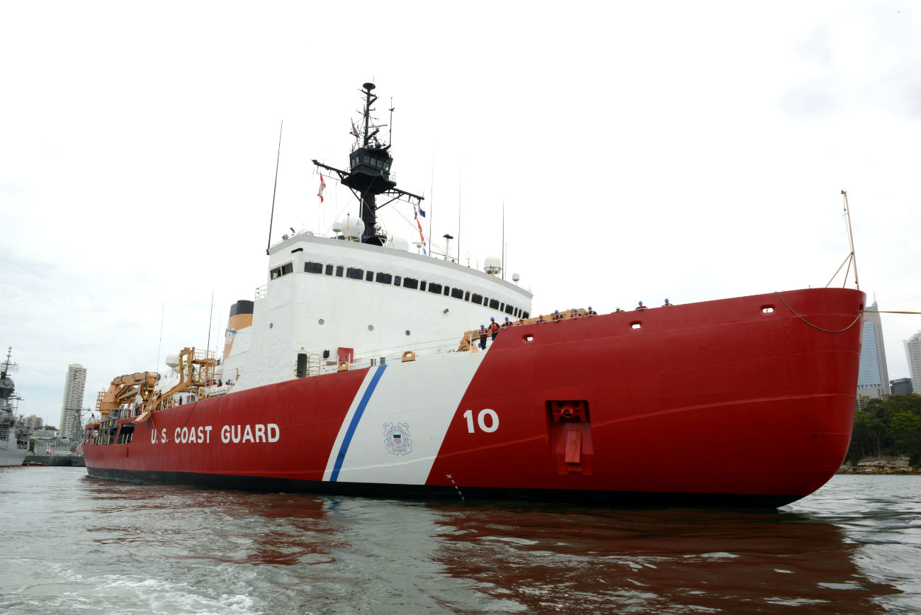 US Coast guard Polar Star