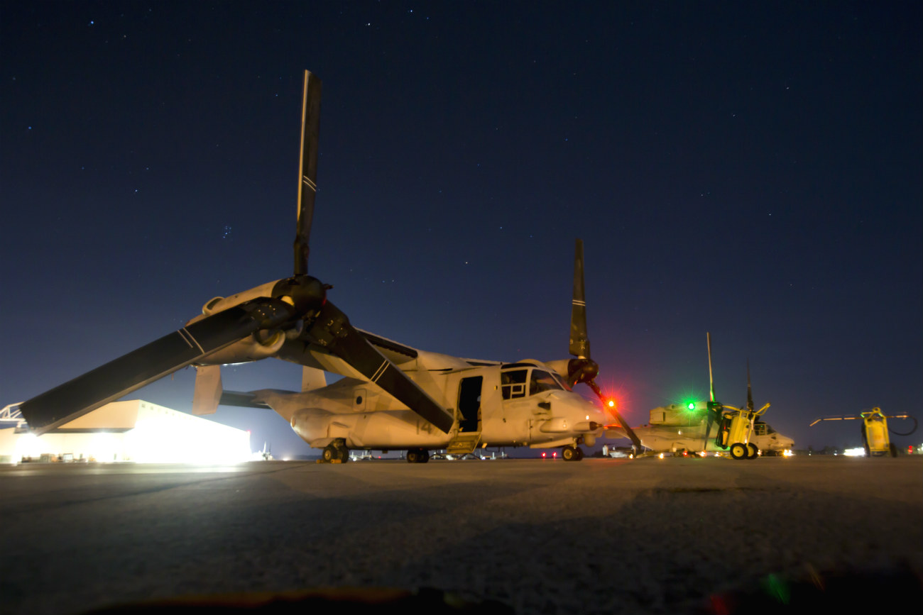 V-22 Osprey Night