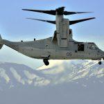 V-22 Osprey aircraft side