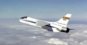 Vought F-8 Crusader NASA