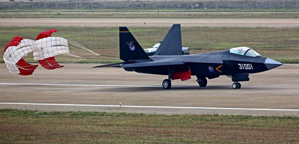 Shenyang J-31 Parachute