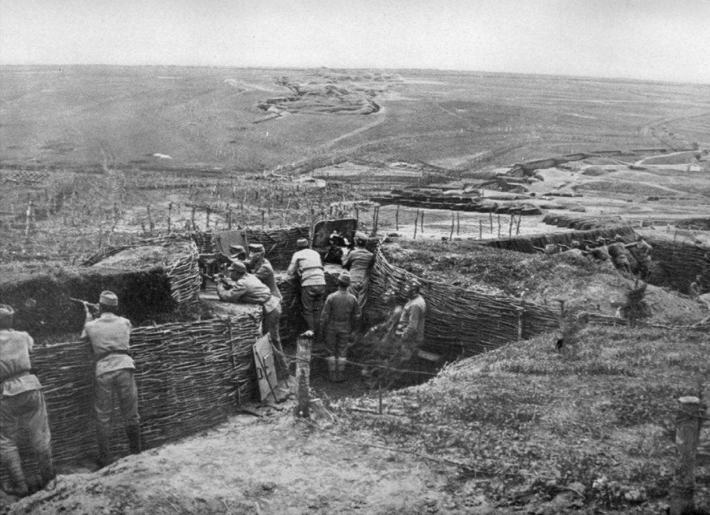 Trenches of World War I trench warfare