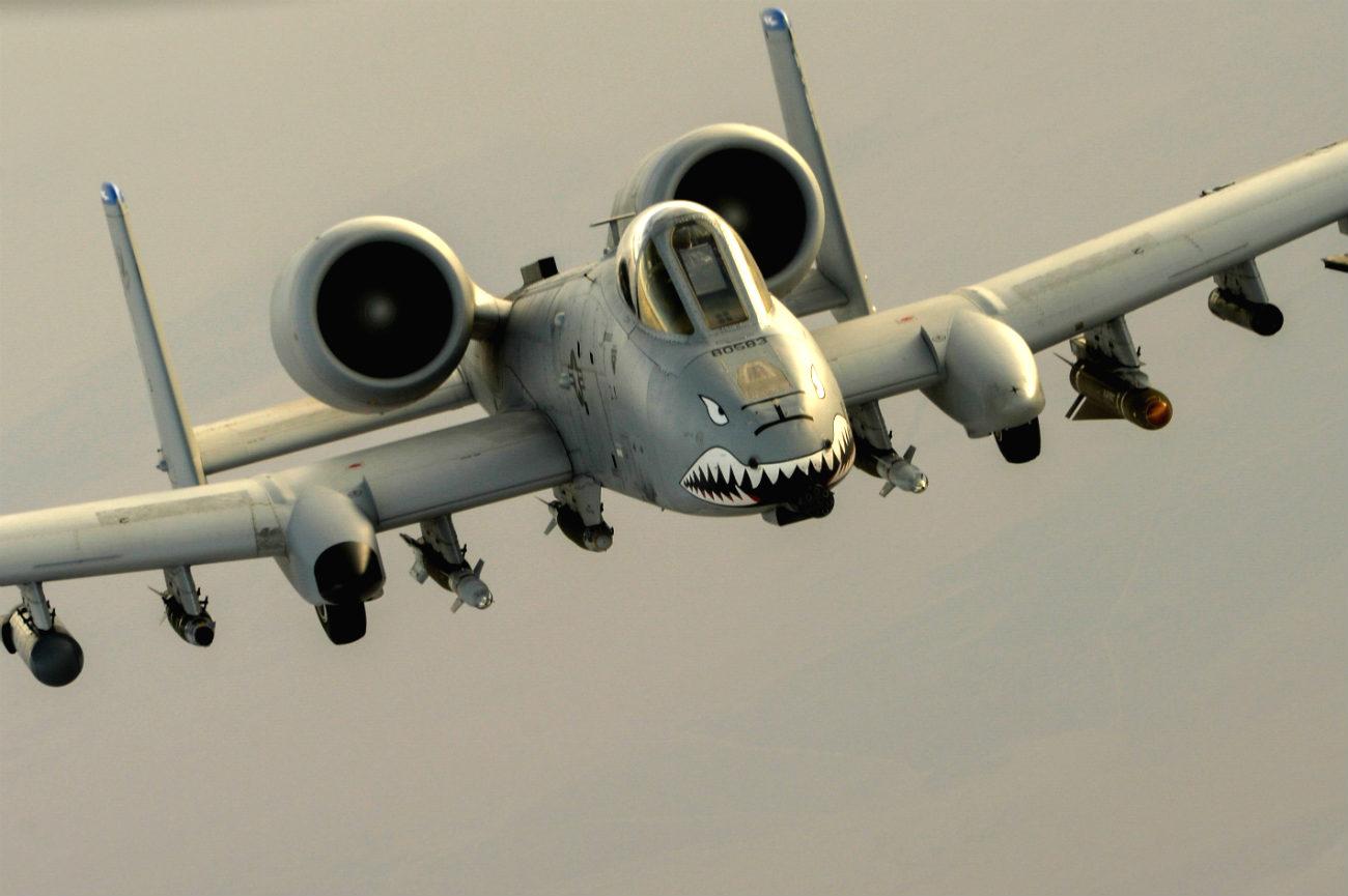 A-10 in air