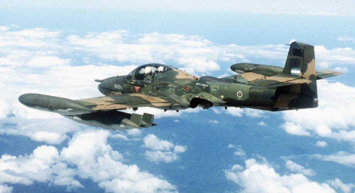 A-37 Dragonfly over Vietnam