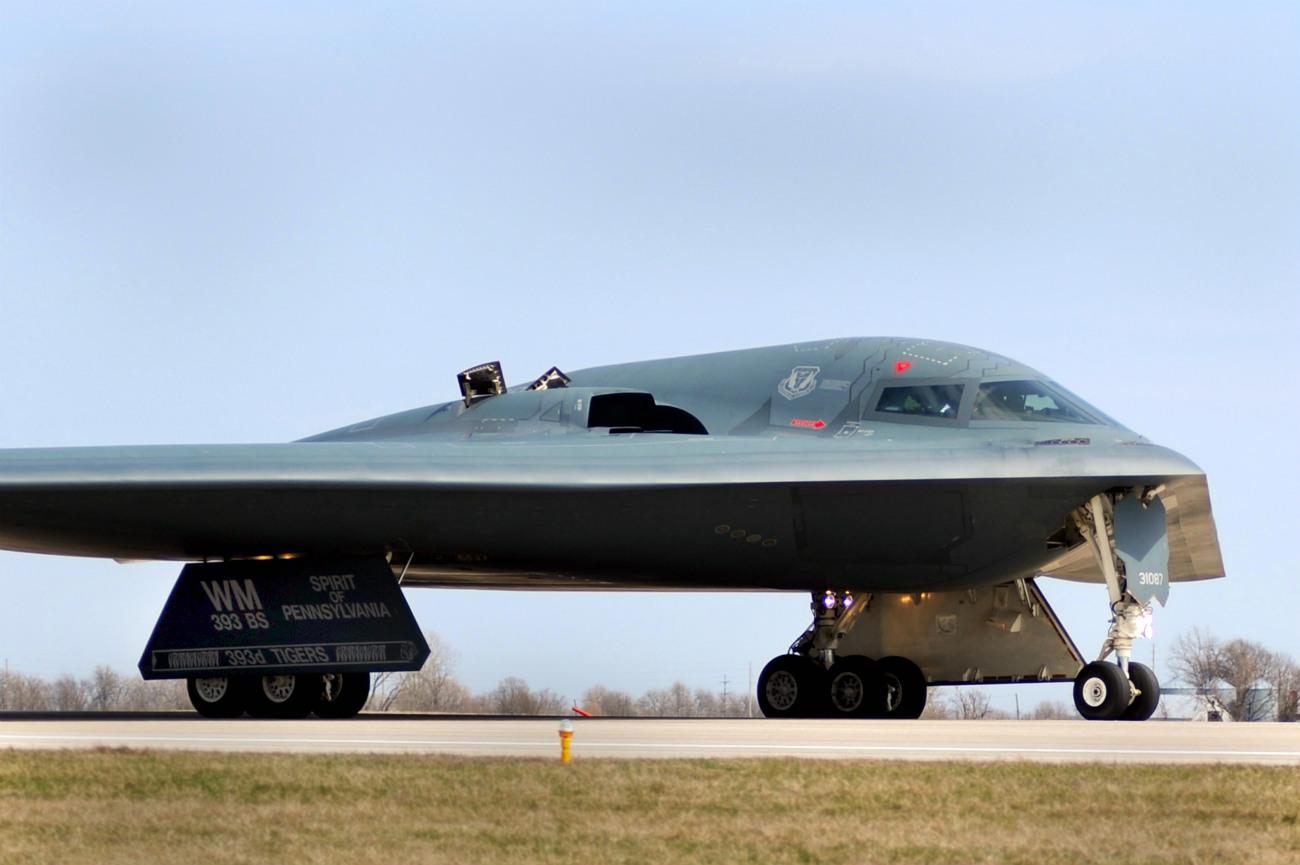 B-2 Spirit - Return from mission