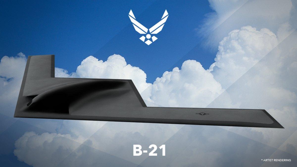 B-21 Raider artist rendering