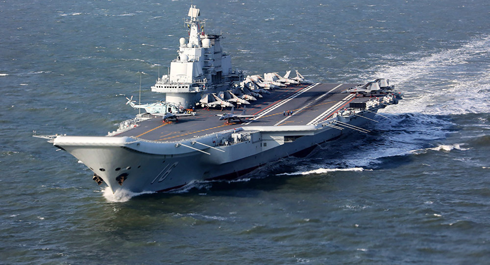 Chinese Completed Kuznetsov-Class Aircraft Carrier