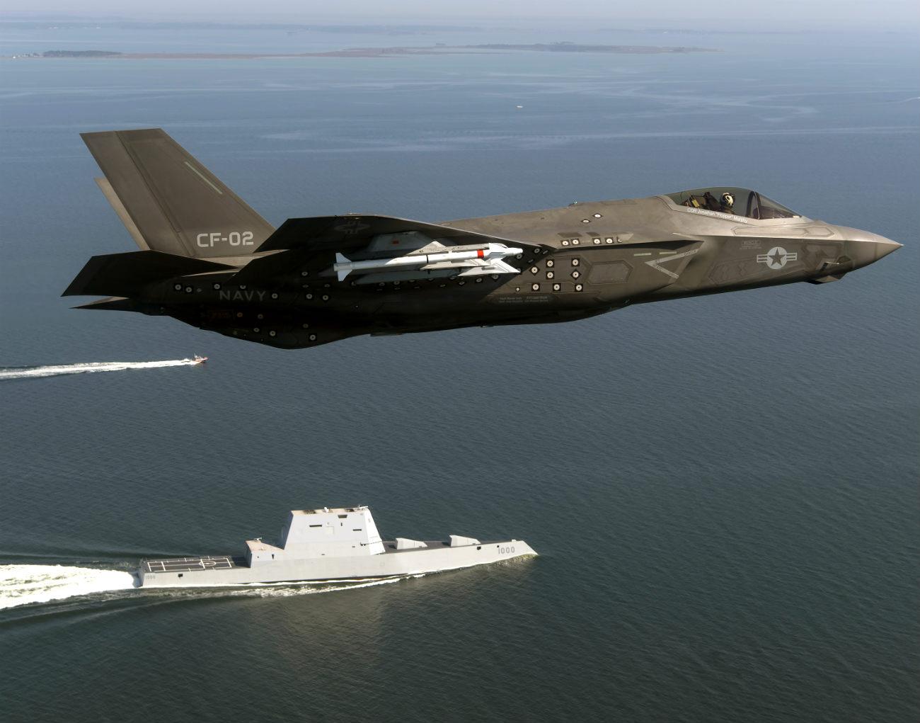 F-35 Missle load