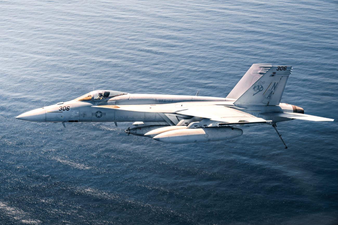 Fa-18 Hornet US fighter jet images