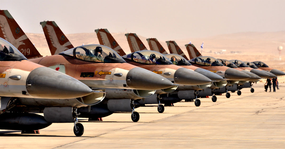Israeli Air Force F-16 Facts