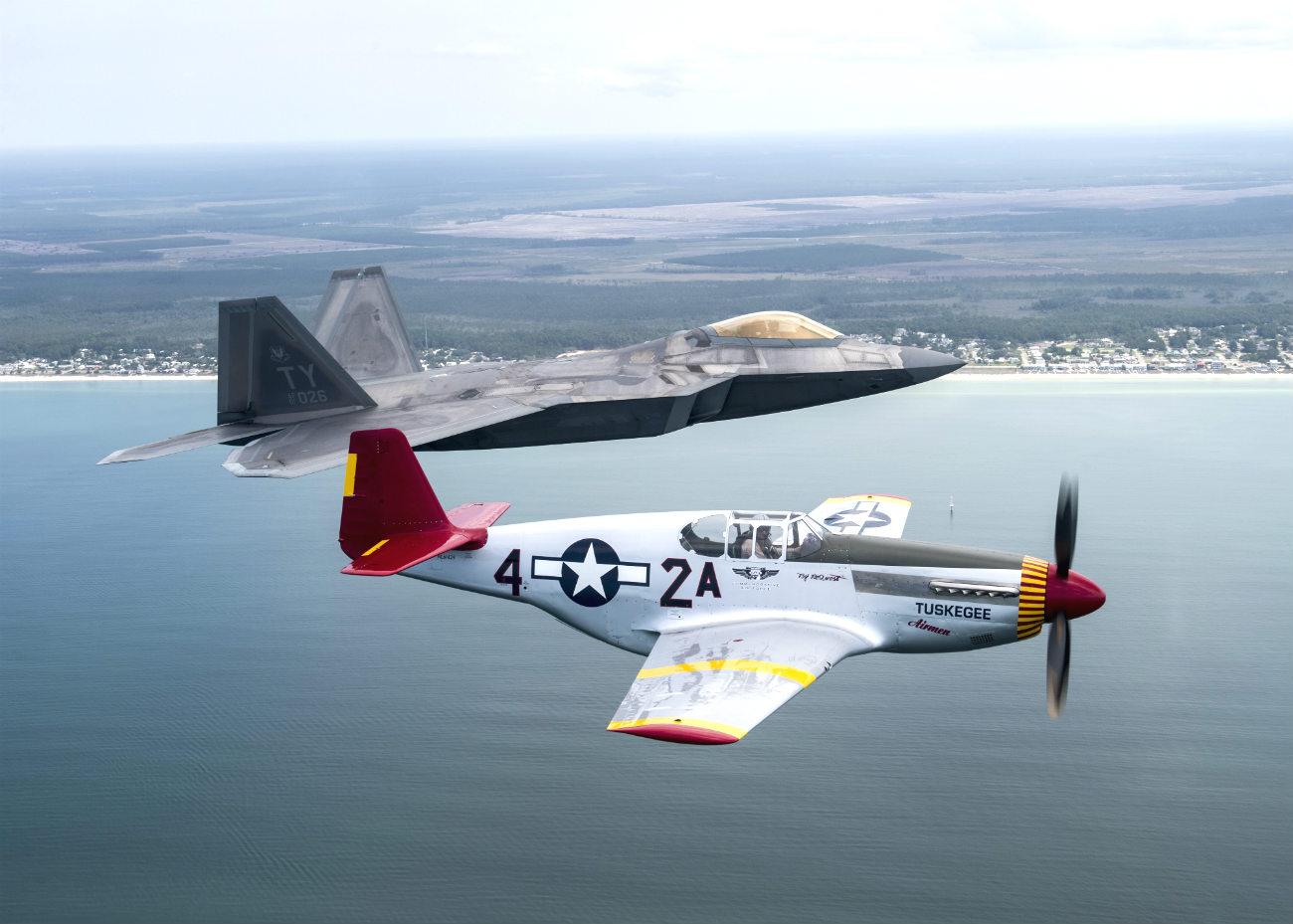 P-51 Mustang in Air