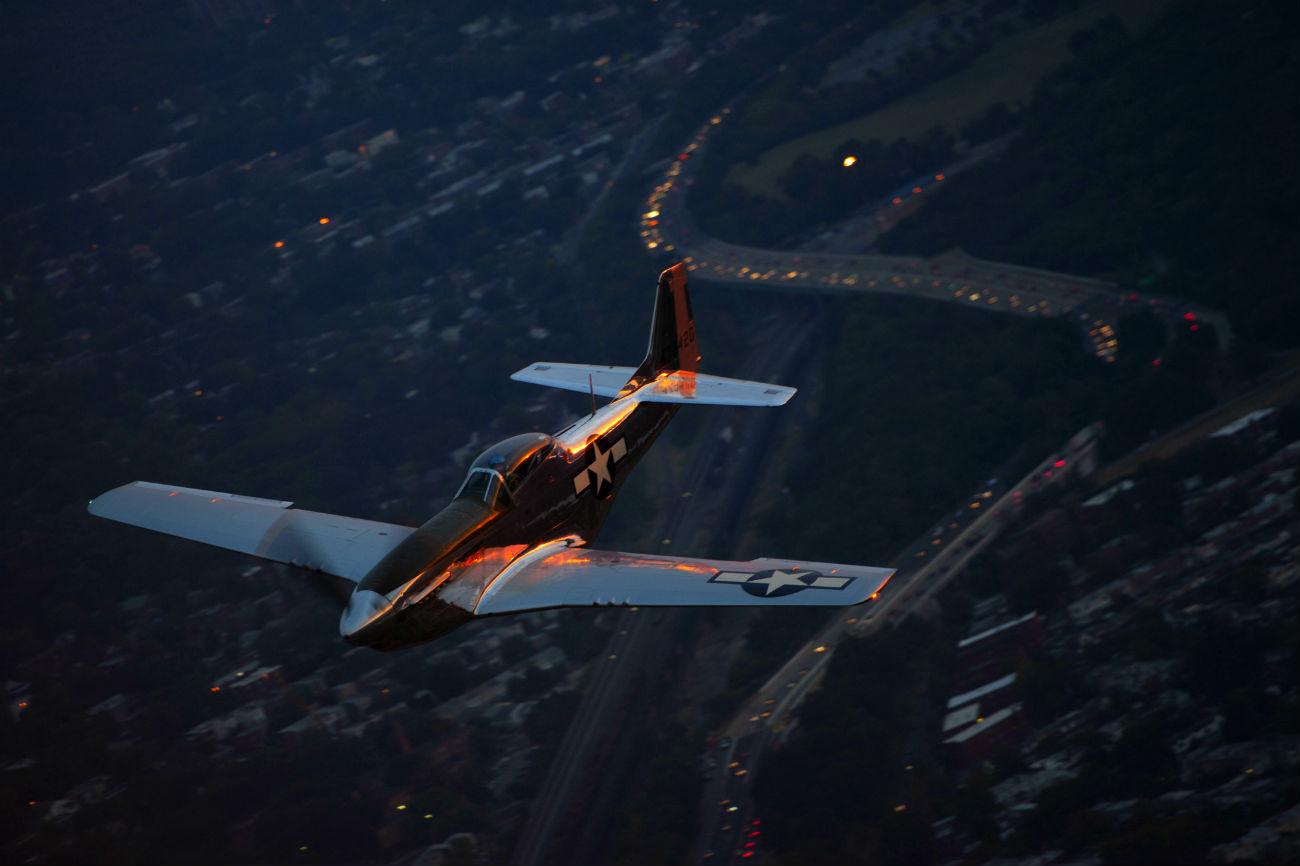 P-51 Mustang Warbirds Tribute Flight