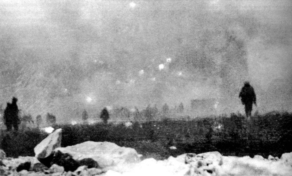 The Battle of Loos, World War I