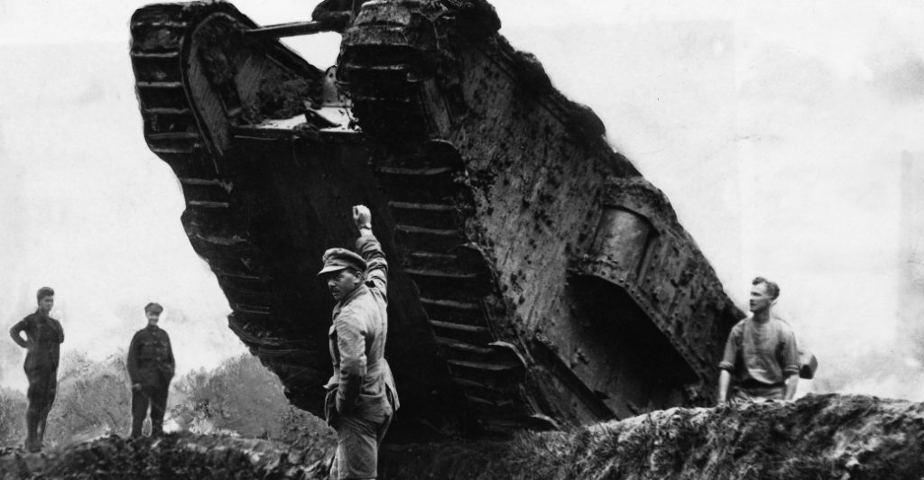 british-tank-rolling-over-trench-P